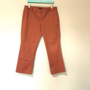 J Crew Women's Cityfit Stretch Pants Size 10